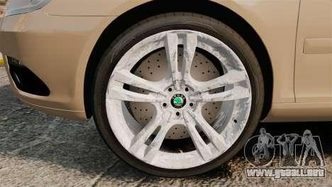 Skoda Octavia RS Stock para GTA 4 vista hacia atrás