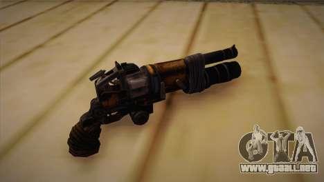 El arma de Bulletstorm para GTA San Andreas segunda pantalla