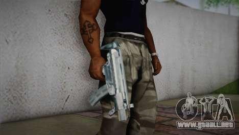 MP5K para GTA San Andreas tercera pantalla