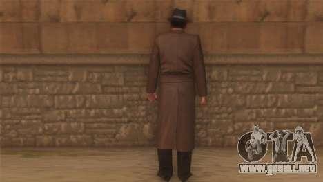 Sam de la mafia para GTA San Andreas segunda pantalla
