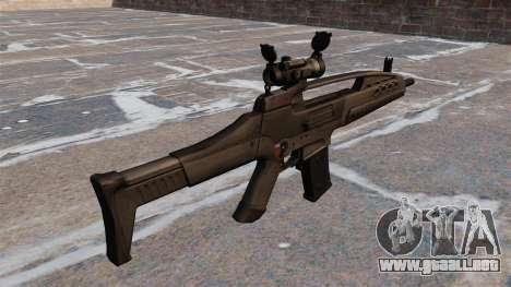 Rifle de asalto HK XM8 para GTA 4 segundos de pantalla