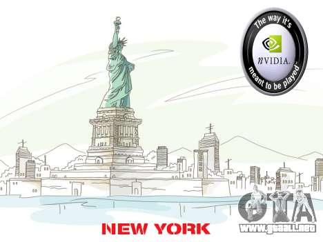 Loadscreens New-York para GTA San Andreas tercera pantalla