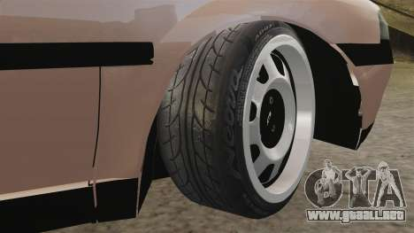 Volkswagen Saveiro G3 SuperSurf para GTA 4 vista lateral