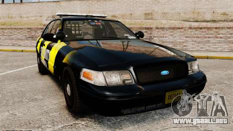 Ford Crown Victoria 2008 Security Patrol [ELS] para GTA 4