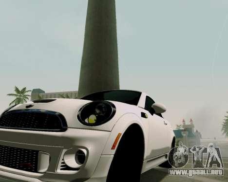MINI Cooper S 2012 para la visión correcta GTA San Andreas