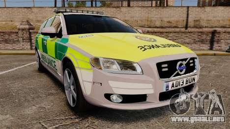 Volvo V70 Ambulance [ELS] para GTA 4