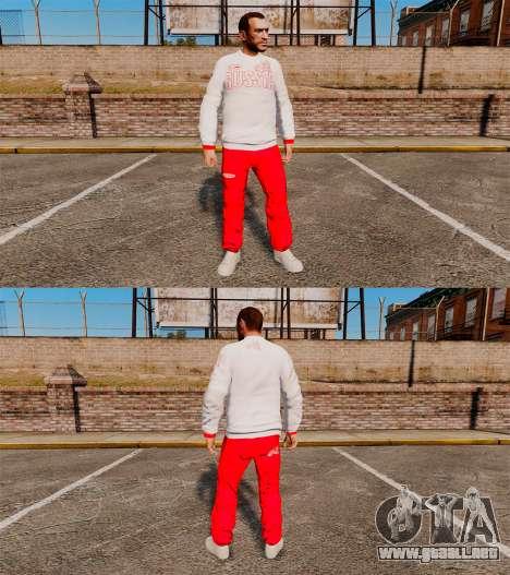 Bosco-ropa deportiva- para GTA 4 adelante de pantalla