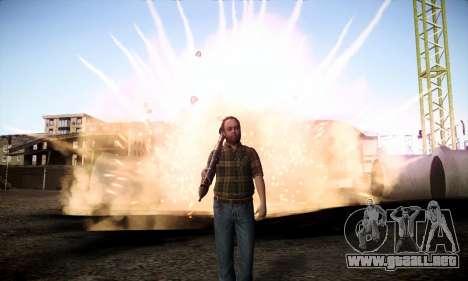 Lester de GTA V para GTA San Andreas tercera pantalla