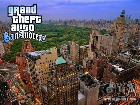 Loadscreens New-York para GTA San Andreas