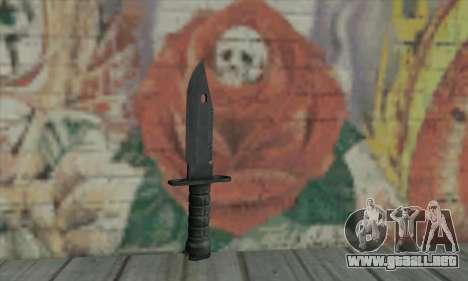 Knife para GTA San Andreas