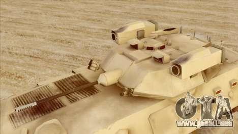 LAV-25 Desert Camo para la visión correcta GTA San Andreas