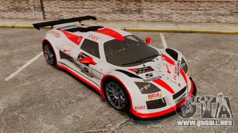 Gumpert Apollo S 2011 para GTA 4 interior