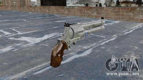 Revólver-Blue Rose- para GTA 4 segundos de pantalla
