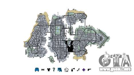 Liberty City Map V Style para GTA 4