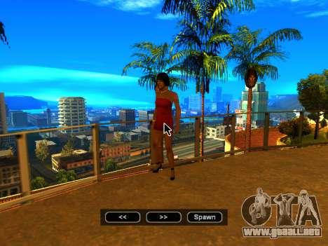 Pak pieles de las niñas para GTA San Andreas novena de pantalla