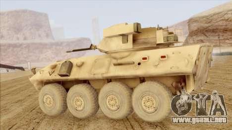 LAV-25 Desert Camo para GTA San Andreas left
