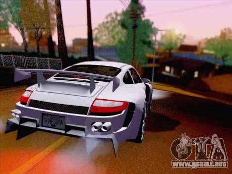 Porsche Carrera S para la visión correcta GTA San Andreas