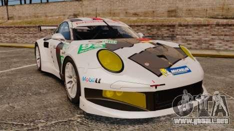 Porsche 911 (991) RSR para GTA 4