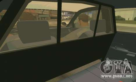 Ford Crown Victoria Police LV para GTA San Andreas interior