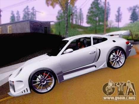 Porsche Carrera S para visión interna GTA San Andreas