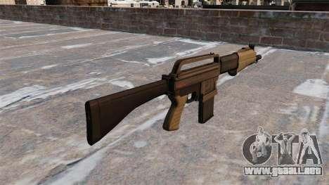 Escopeta Franchi SPAS-15 para GTA 4 segundos de pantalla