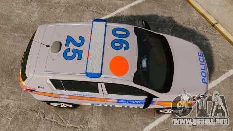 Kia Sportage Metropolitan Police [ELS] para GTA 4 visión correcta