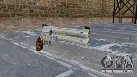 Revólver-Blue Rose- para GTA 4