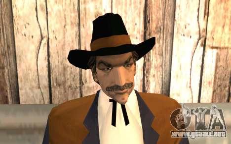 Avery Carrington para GTA San Andreas tercera pantalla