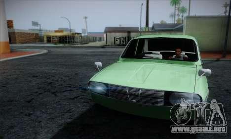 Dacia 1300 Retro Art para GTA San Andreas vista hacia atrás