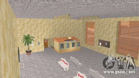 Estación de ferrocarriles en San Fierro para GTA San Andreas quinta pantalla