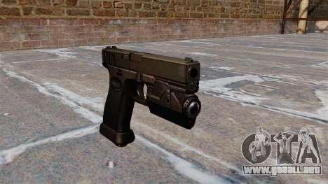 Carga automática pistola Glock 20 para GTA 4
