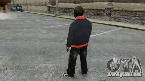 Franklin Clinton v2 para GTA 4 tercera pantalla