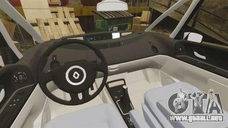 Renault Espace IV Initiale v1.1 para GTA 4 vista interior