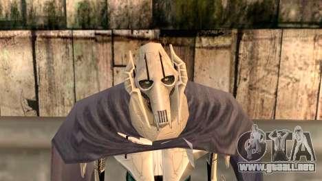 General Grievous para GTA San Andreas tercera pantalla