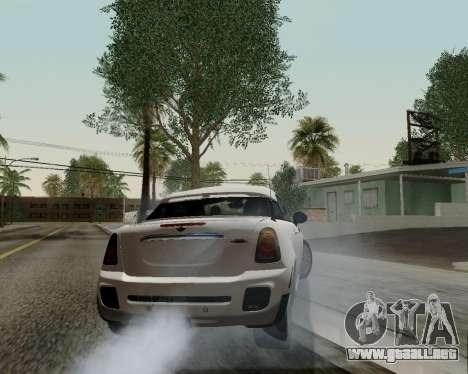 MINI Cooper S 2012 para la vista superior GTA San Andreas