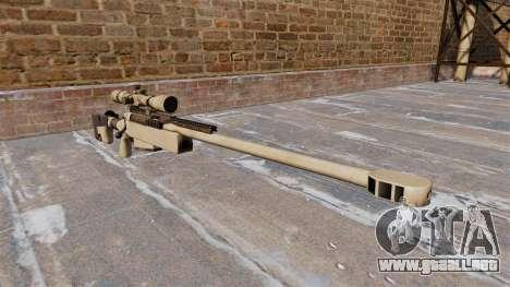 Rifle de francotirador McMillan TAC-50 para GTA 4
