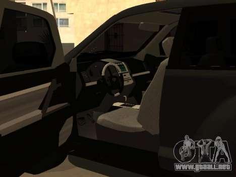 Toyota Land Cruiser Prado 2012 para la visión correcta GTA San Andreas