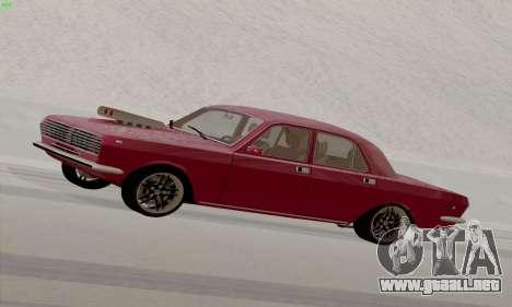 GAZ Volga 2410 caliente Road para GTA San Andreas left