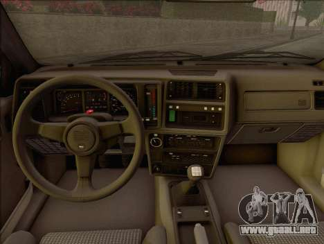 Ford Sierra Mk1 Coupe GHIA para la visión correcta GTA San Andreas