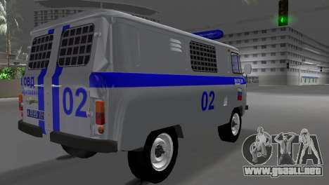 UAZ-3741 AUMONT para GTA Vice City left