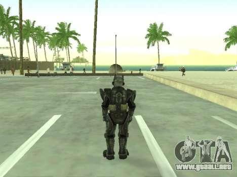 New skin from Fallout 3 para GTA San Andreas tercera pantalla