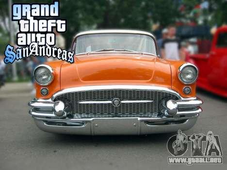 New loadscreen Old Cars para GTA San Andreas quinta pantalla