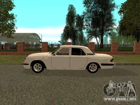 Volga GAZ 31105 para GTA San Andreas vista posterior izquierda