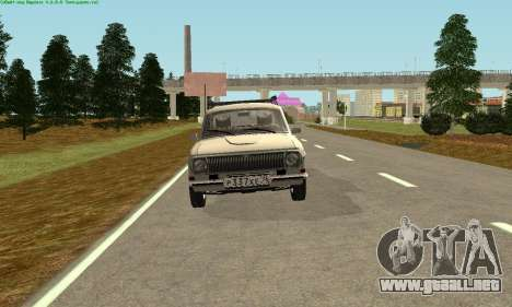 Volga GAZ 24-10 para GTA San Andreas left
