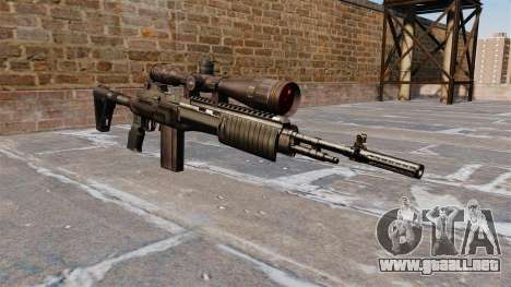 Fusil automático Mk 14 EBR para GTA 4