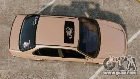 Honda Civic para GTA 4 visión correcta