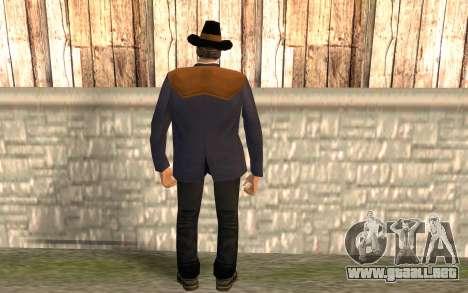 Avery Carrington para GTA San Andreas segunda pantalla