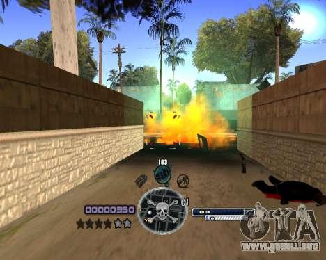 C-HUD by Niko para GTA San Andreas tercera pantalla