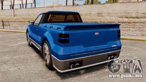 Contender FX para GTA 4 Vista posterior izquierda