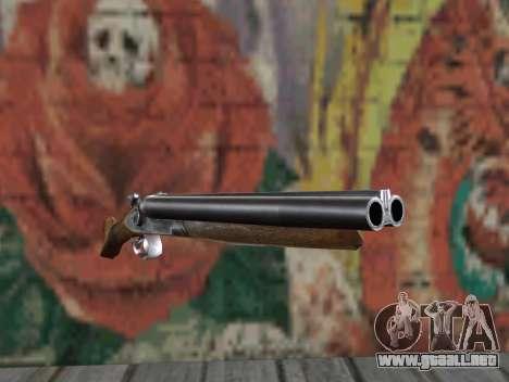 Una escopeta recortada de un acosador para GTA San Andreas